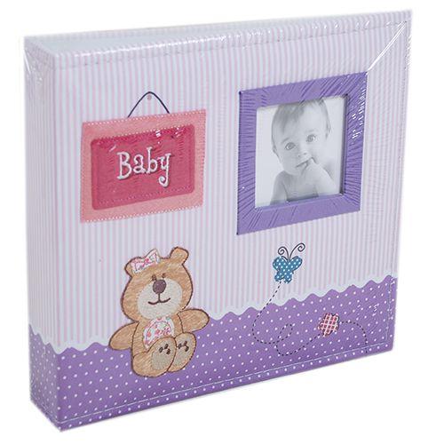 Álbum baby ursinho 200 fotos 10x15 Ical 801
