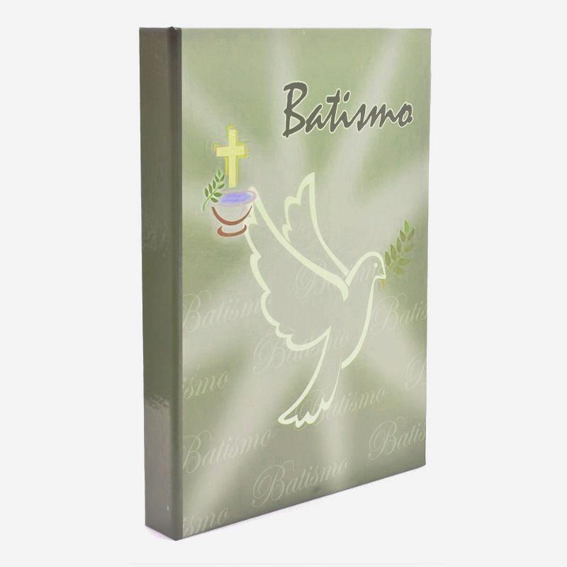 Álbum Batismo 40 fotos 15x21 Religioso Rec 400/06