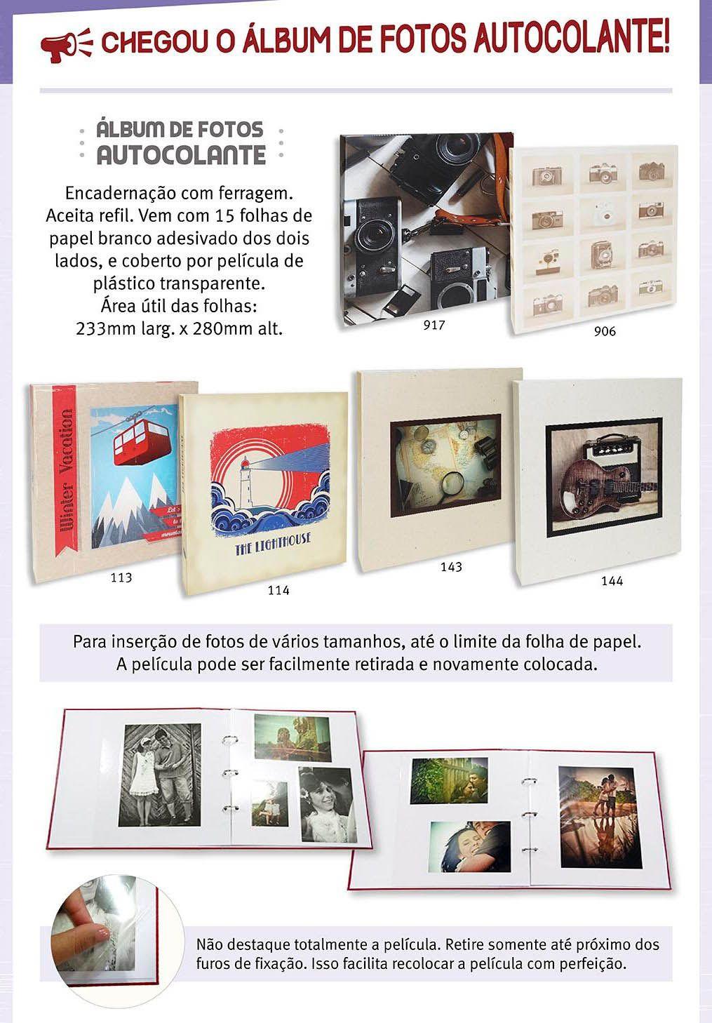 Álbum De Fotos Autocolante Ical 405