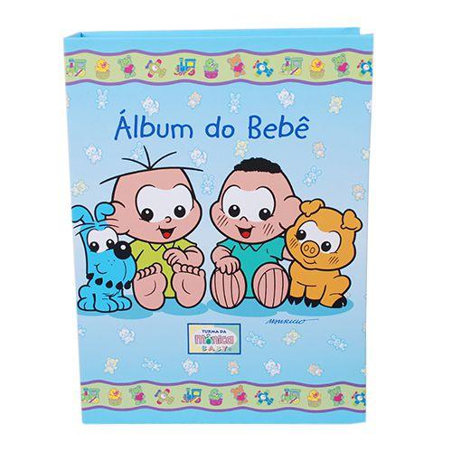 Álbum do Bebê Turma da Mônica 120 fotos 10x15 Ical 10