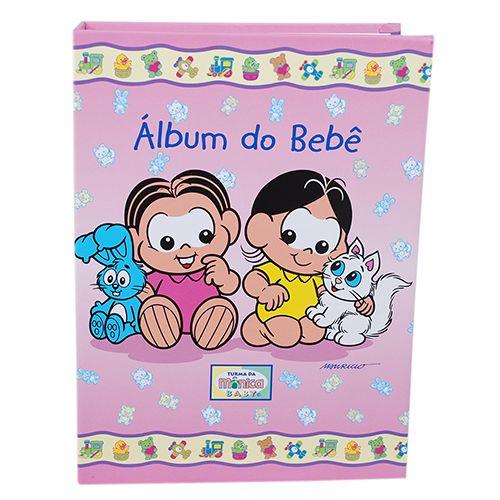 Álbum do Bebê Turma da Mônica 120 fotos  10x15 ical 11