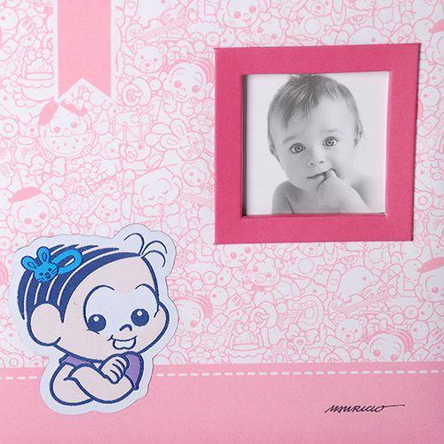 Álbum do Bebê Turma da Mônica C/ caixa 200 Fotos 10x15 Ical 850