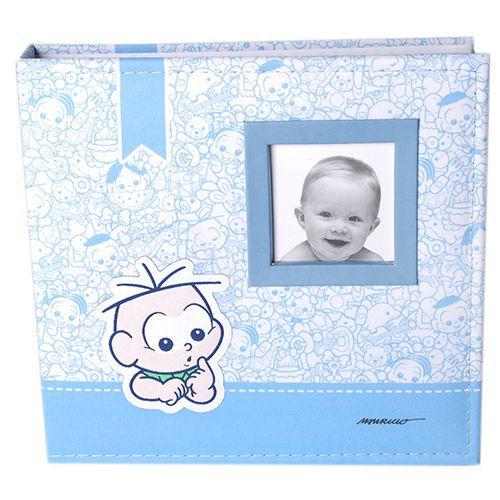 Álbum do Bebê Turma da Mônica c/ Caixa 200 Fotos 10x15 Ical 851