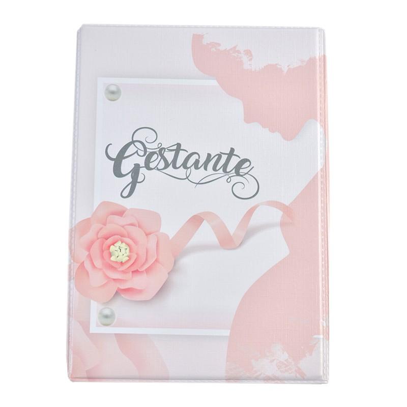 Álbum + Estojo Gestante 120 Fotos 15x21cm Design 11388-A0701