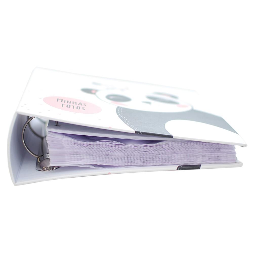 Álbum Infantil 300 Fotos 10x15cm Com Ferragem - Ical 296