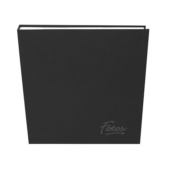 Álbum Mega Ferragem 500 Fotos 10x15cm Preto - Ical 15