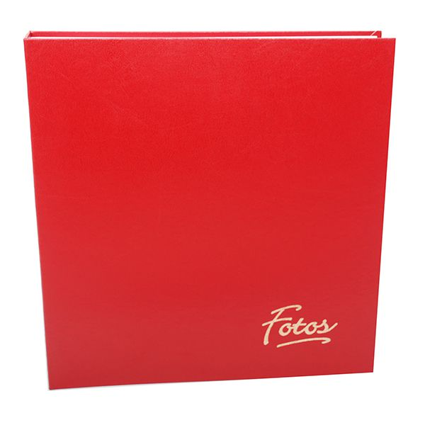 Álbum Mega Ferragem 500 Fotos 10x15cm Vermelho - Ical 23