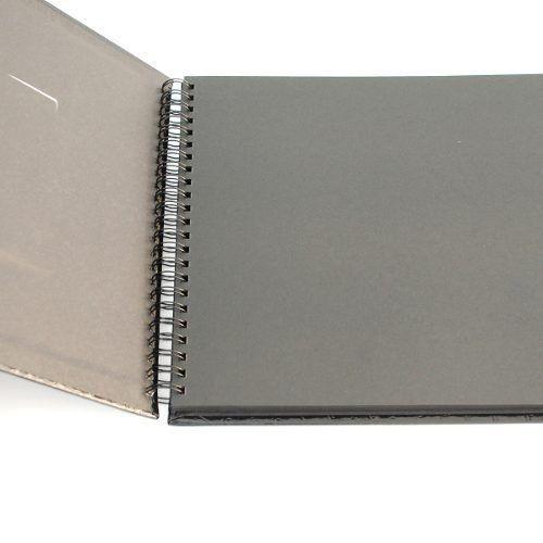 Álbum Scrapbook 20x23 azul Craquelado Square 554/04