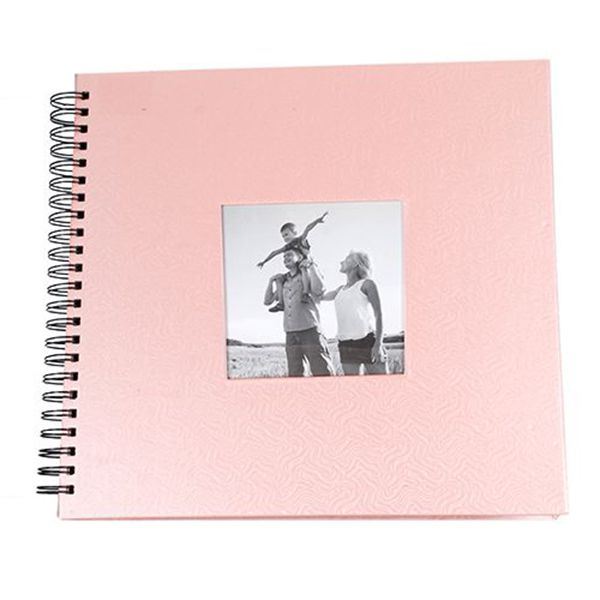 Álbum Scrapbook 30x33 Square Rosa 20 Folhas