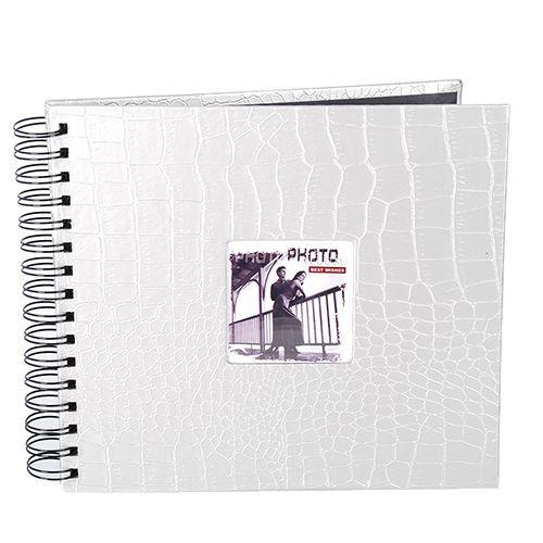 Álbum Scrapbook Prata Com 20 Folhas 30x33 Square 555/02