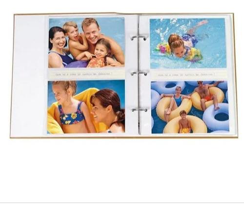 Álbum Viagem 200 Fotos 10x15cm fichário - Ical 554