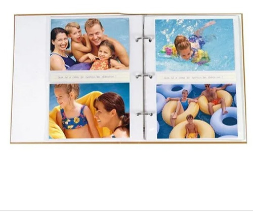 Álbum Viagem 200 Fotos 10x15cm fichário - Ical 556
