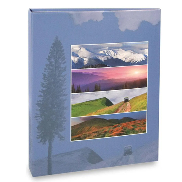 Álbum Viagem 200 Fotos 10x15cm fichário - Ical 597