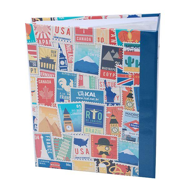 Álbum Viagem 500 Fotos 10x15cm - Ical 551