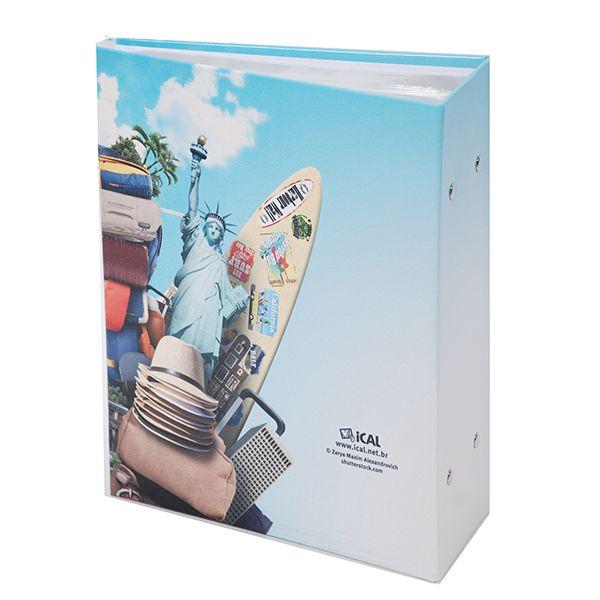 Álbum Viagem 500 Fotos 10x15cm - Ical 558