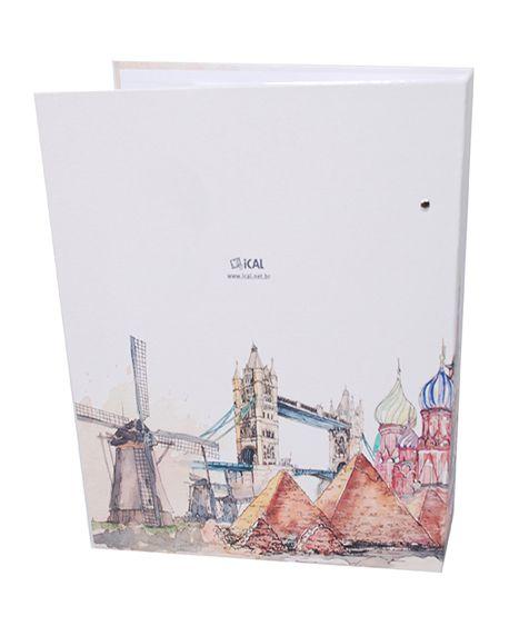 Álbum Viagem 500 Fotos 10x15cm - Ical 576