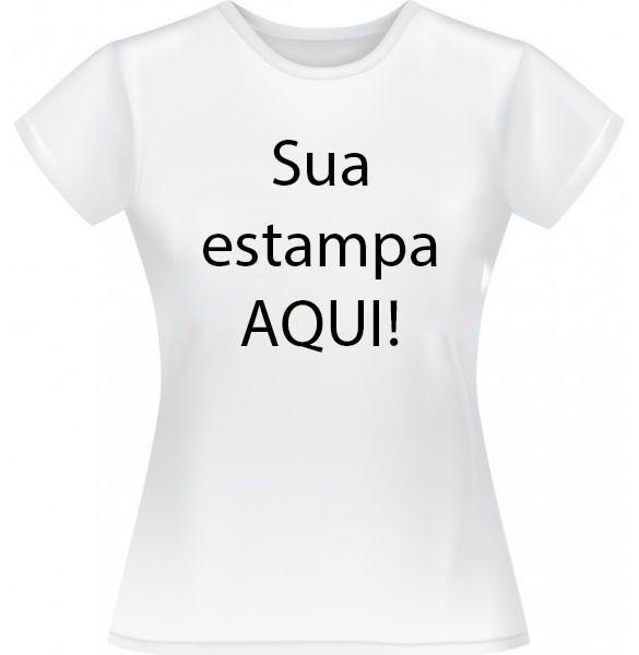 Camiseta Personalizada Adulto (Baby Look)