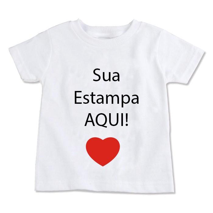 Camiseta Personalizada Infantil