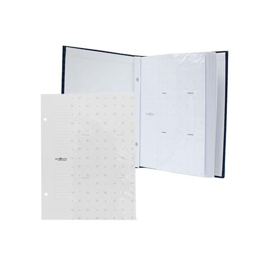 Kit 1 Album 450 fotos 10x15 (Vermelho) + 1 Refil de 10 folhas Rec