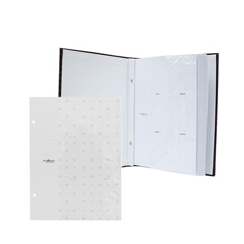 Kit 1 Album 600 fotos 10x15 (Marrom) + 1 Refil de 10 folhas Rec