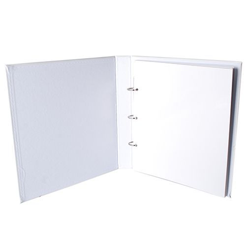Kit 1 Álbum Autocolante Branco 404 + 2 Refil Autocolante Ical