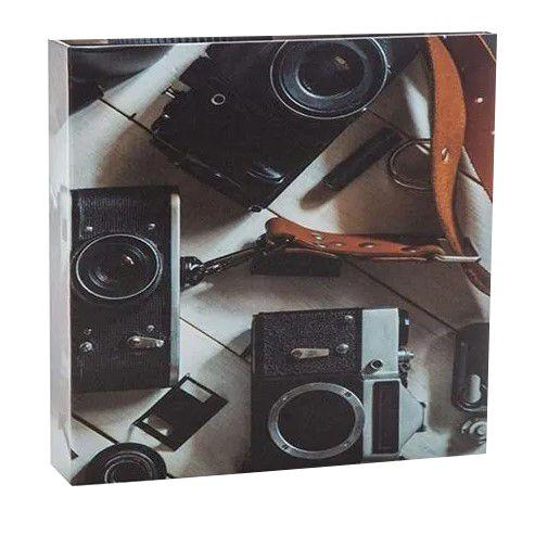 Kit 1 Álbum Autocolante Câmera 917 + 1 Refil Autocolante Ical