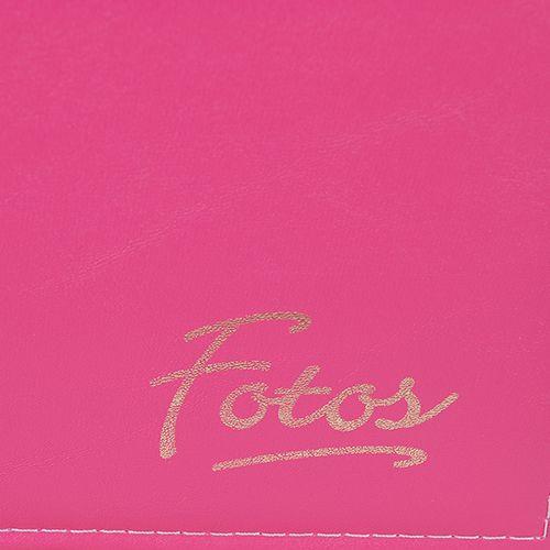 Kit 1 Álbum Autocolante Rosa Pink 403 + 2 Refil Autocolante Ical