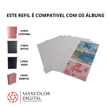 KIT ALBUM 450 F 10X15 CORDOBA 004/16 + 1 REFIL 10 FLS - REC