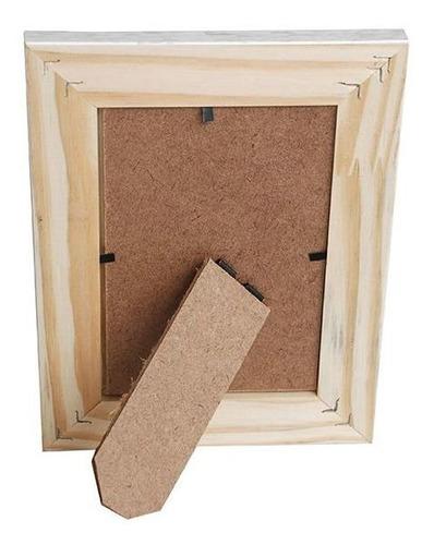 Porta Retrato 13x18 Madeira Conceito 20 mm Rec 101/02