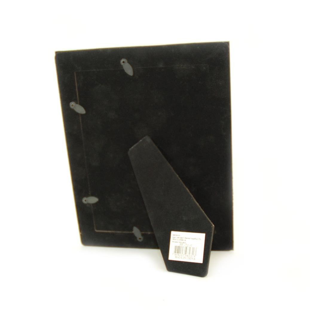 Porta Retrato 13x18 Vidro Square Preto Pf-72-5