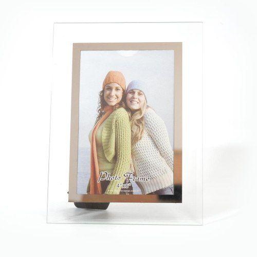 Porta Retrato 13X18 Vidro Square Trans. PF-39-5