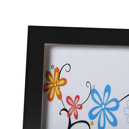 Porta Retrato para 4 Fotos 10x15 Square Preto Pf-533PO