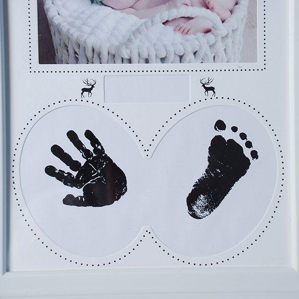 Porta retrato bebe 10x15 com Carimbo Square PF-1111BR