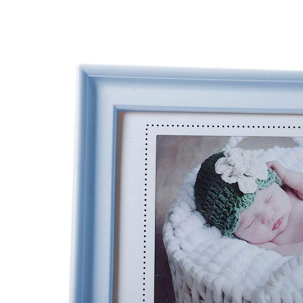 Porta retrato bebe 10x15 com Carimbo Square PF-1111AZ