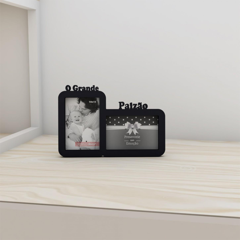 Porta Retrato Duplo 10x15 O Grande Paizão Geniale 02