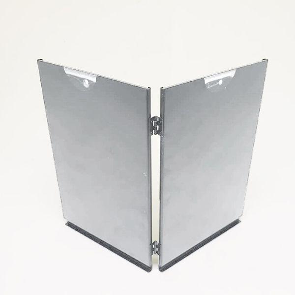Porta retrato duplo 10x15 Square Prata PF-1205-4PA