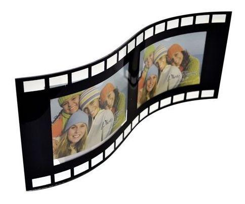 PORTA RETRATO DUPLO 10X15 VIDRO FILME PF-1100 - SQUARE