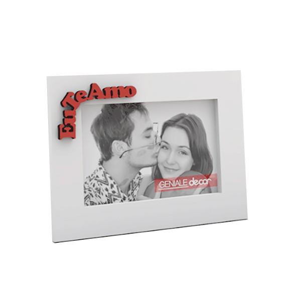 Porta Retrato Horizontal Branco 20x25 Te amo Mãe Gen 03