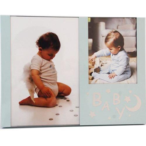 Porta Retrato Infantil 10x15 / 8x10 Square Baby PF-445AZ