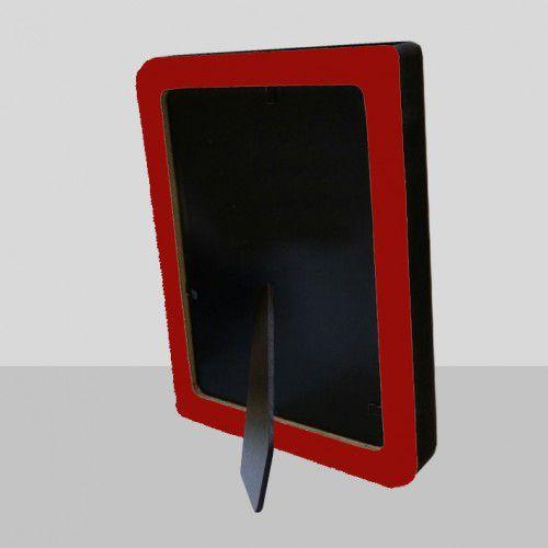 Porta Retrato Vertical Vermelho 10x15 Menina 17