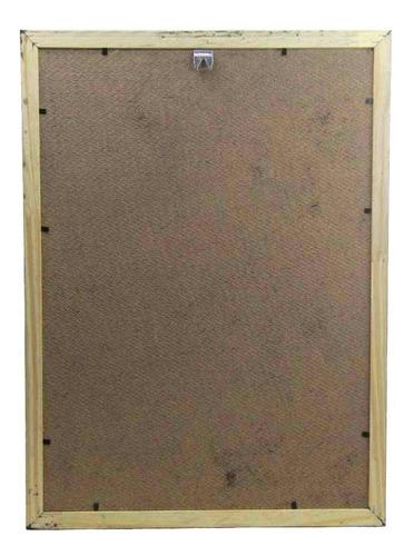 Quadro Madeira 30x40 Conceito 20 mm Rec 101/11