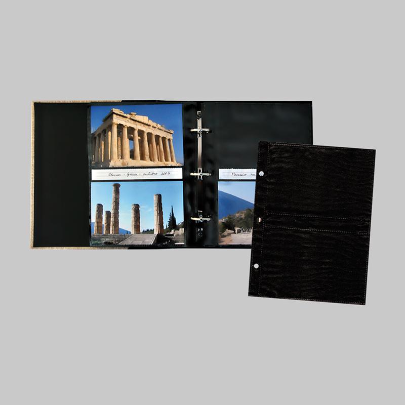 Refil Folha Preta 10 FL 10x15 - R3 - ICAL