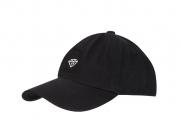 Boné Diamond Brilliant Dad Hat Aba Curva Preto