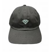 Boné Diamond X Willkhalifaman Aba Curva Preto