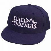 Boné Dogtown X Suicidal Tendencies Snapback Aba Reta Marinho