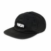 Bone High Co Strapback Logo Black
