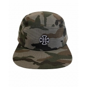Boné Independent Cross Fivepanel Camuflado Strapback