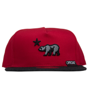 Boné Official Aba Reta Strapback Cali Red