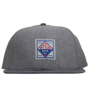 Boné Official Aba Reta Strapback Wear All