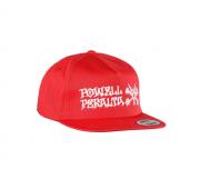 Boné Powell Peralta Snapback Aba Reta Rat Bones Red